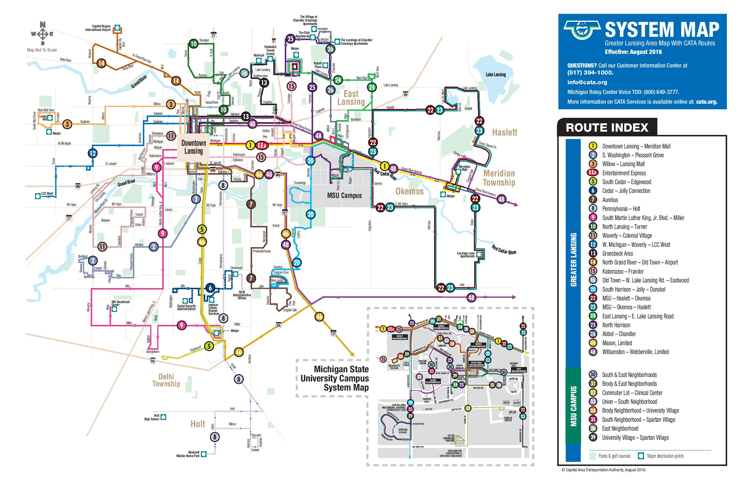 Fixed Routes Find Bus by Service Routes Schedules CATA